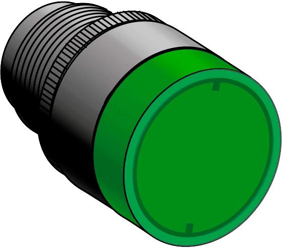 Головка кнопки с подсветкой MEYERTEC MTB2-EW36