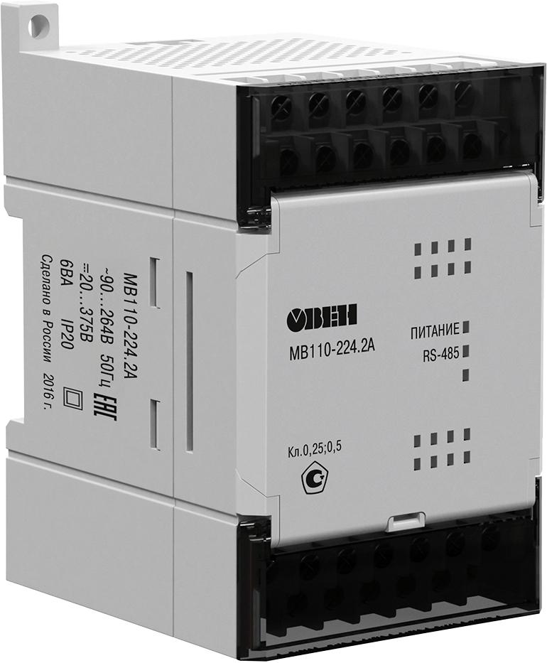 Модуль аналогового ввода с универсальными входами ОВЕН МВ110-224.2А