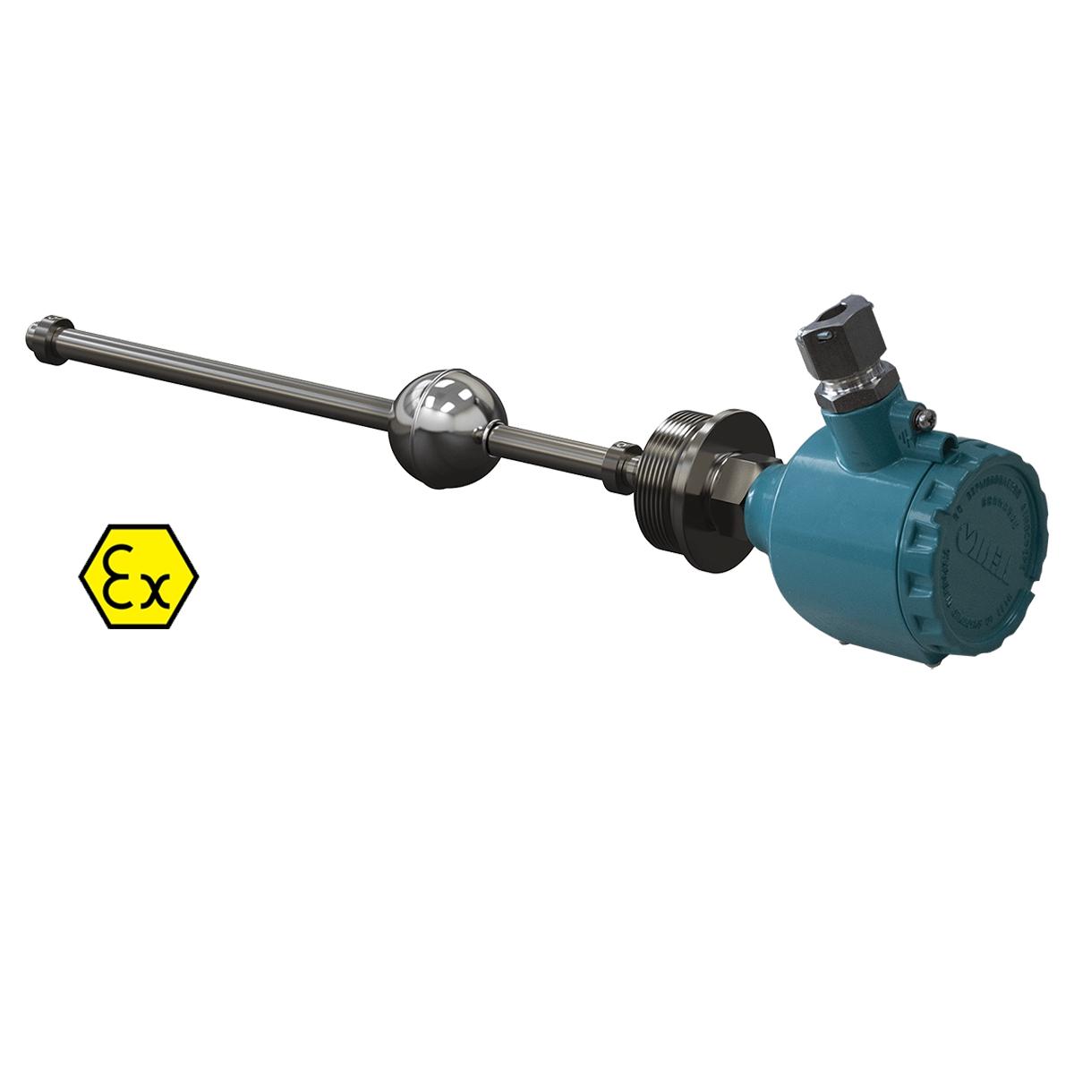 Поплавковый датчик уровня с аналоговым выходом ОВЕН ПДУ-И.750.5-ЕХD