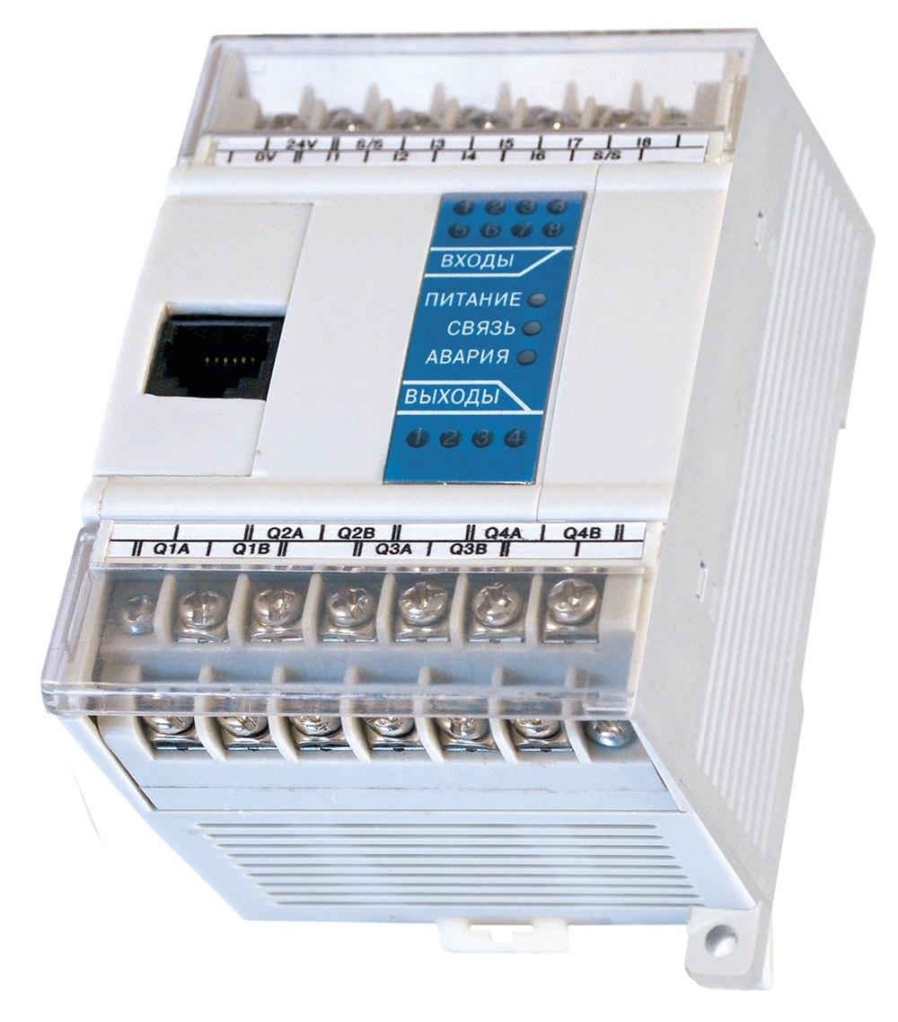 Программируемое реле для дискретных локальных систем ОВЕН ПР110-220.8ДФ.4Р-Ч