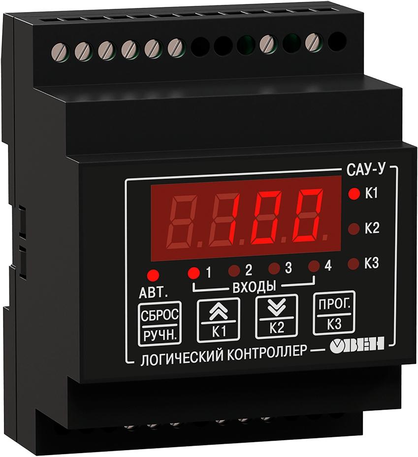 Контроллер для управления группой насосов с чередованием ОВЕН САУ-У.Д