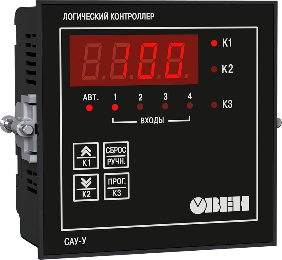 Контроллер для управления группой насосов с чередованием ОВЕН САУ-У.Щ11