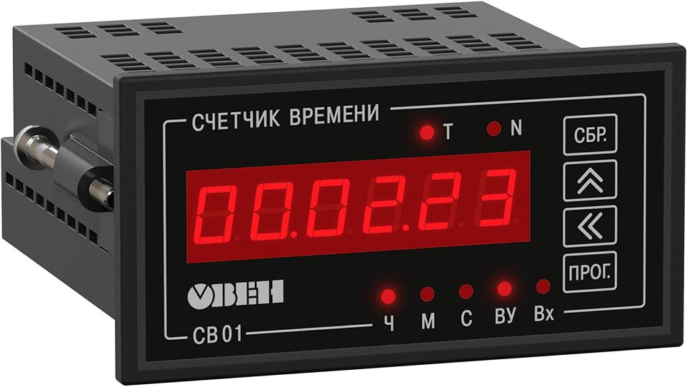 Счетчик времени наработки оборудования ОВЕН СВ01-24.Щ2