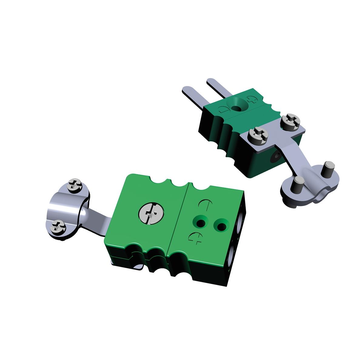 Разъем для преобразователей термоэлектрических ОВЕН Розетка мини, тип S