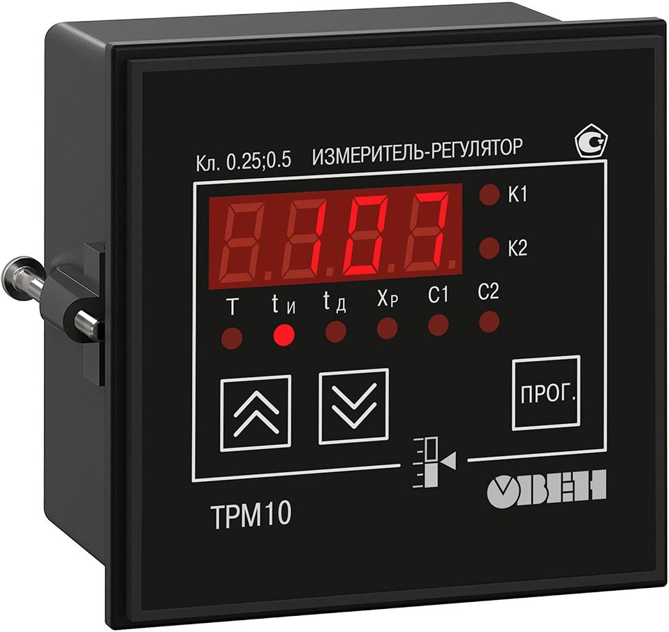 ПИД-регулятор с универсальным входом ОВЕН ТРМ10-Щ1.У.РК