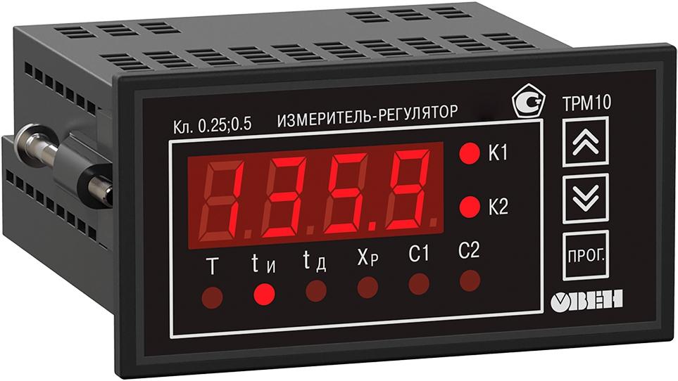 ПИД-регулятор с универсальным входом ОВЕН ТРМ10-Щ2.У.РР