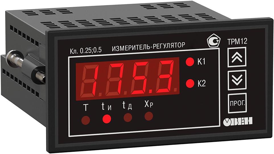 ПИД-регулятор с универсальным входом для задвижек ОВЕН ТРМ12-Щ2.У.Р
