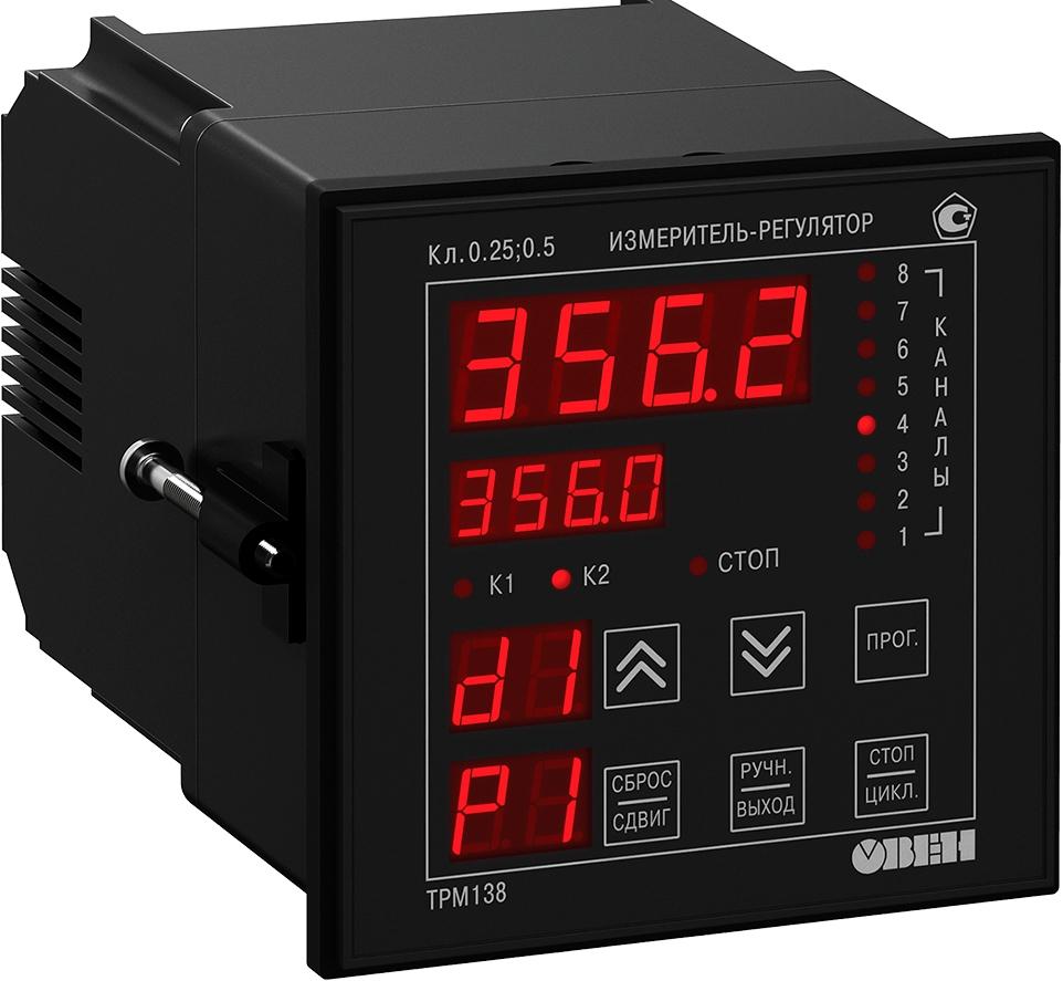 Восьмиканальный регулятор с RS-485 ОВЕН ТРМ138-Р