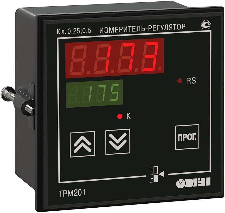 Регулятор с универсальным входом и RS-485 ОВЕН ТРМ201-Щ1.Р