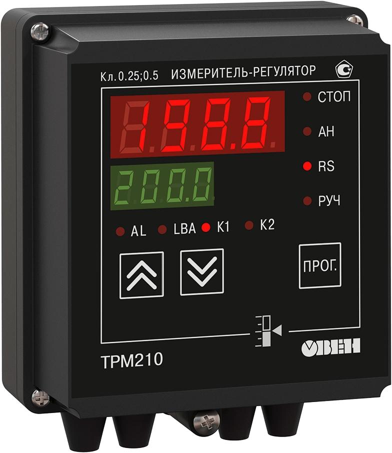 ПИД-регулятор с универсальным входом и RS-485 ОВЕН ТРМ210-Н.ИР