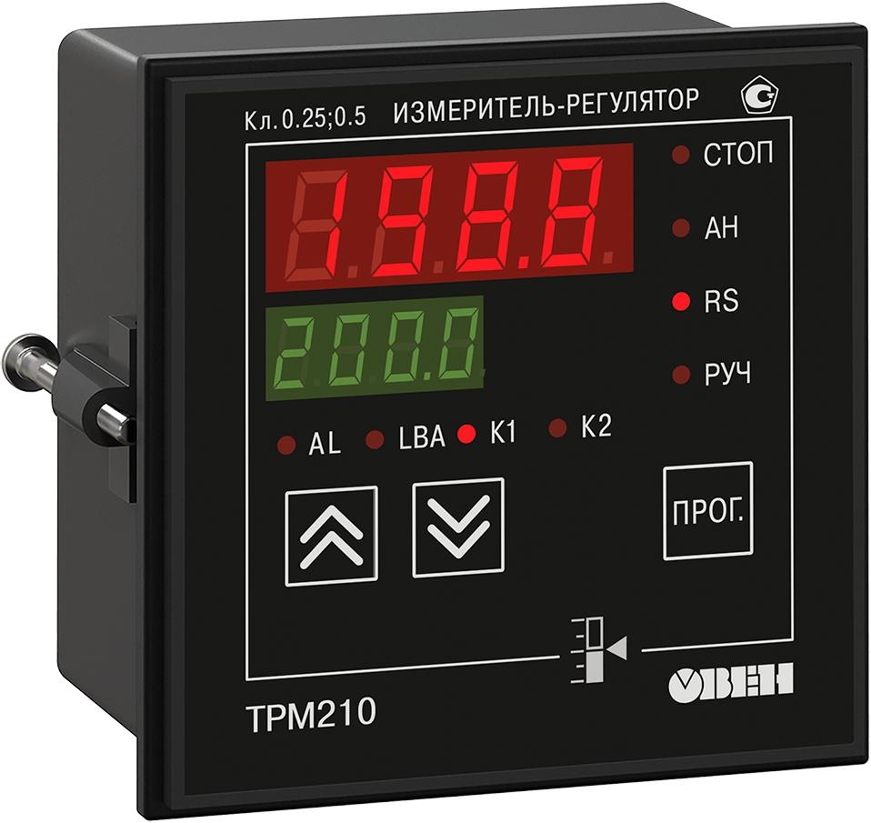 ПИД-регулятор с универсальным входом и RS-485 ОВЕН ТРМ210-Щ1.КУ