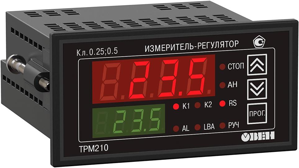 ПИД-регулятор с универсальным входом и RS-485 ОВЕН ТРМ210-Щ2.СК