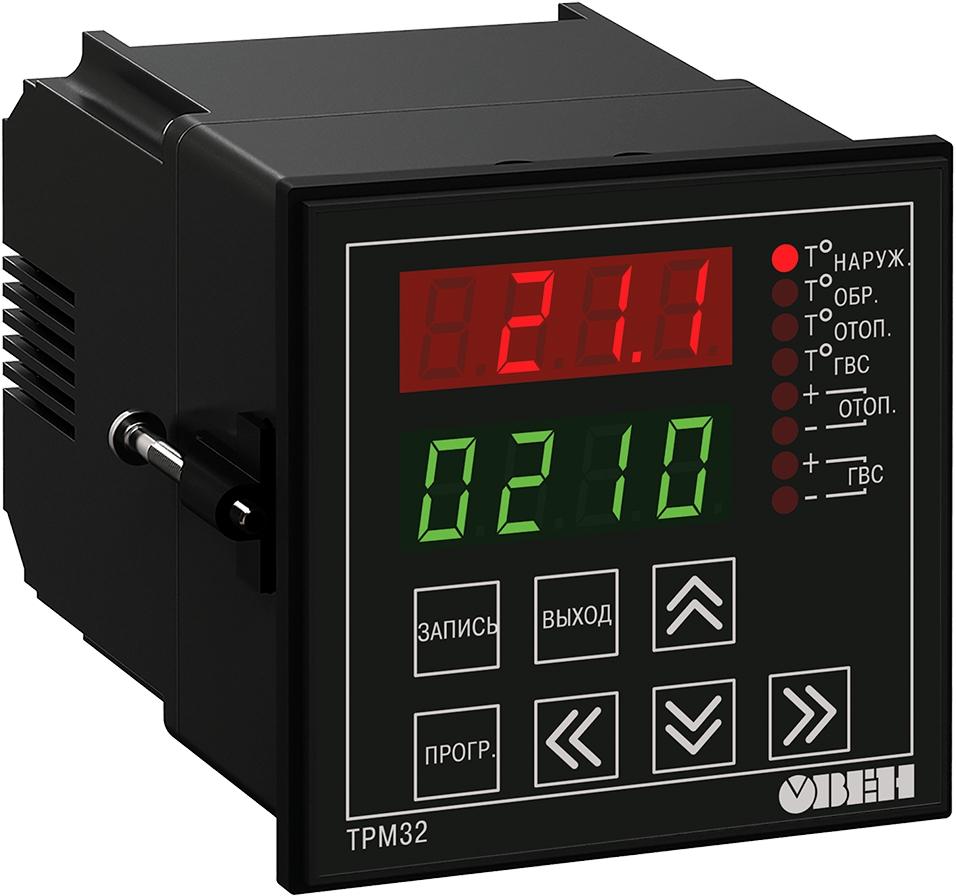 Контроллер систем отопления и ГВС ОВЕН ТРМ32-Щ4.01.RS