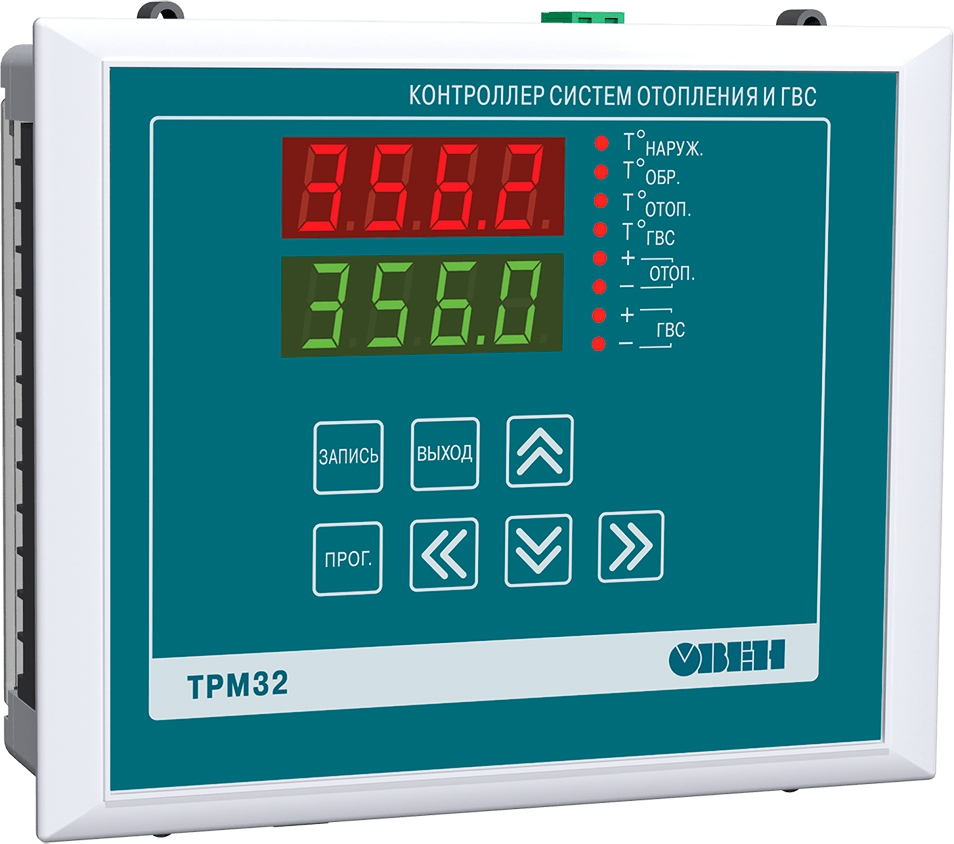 Контроллер систем отопления и ГВС ОВЕН ТРМ32-Щ7.ТС.RS