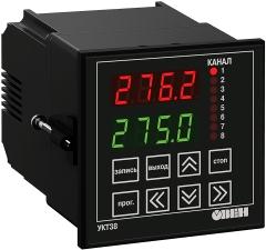 Восьмиканальный измеритель с аварийной сигнализацией ОВЕН УКТ38-Щ4-ТС