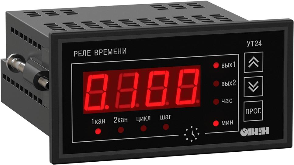 Цифровой двухканальный таймер ОВЕН УТ24-Щ2.Р