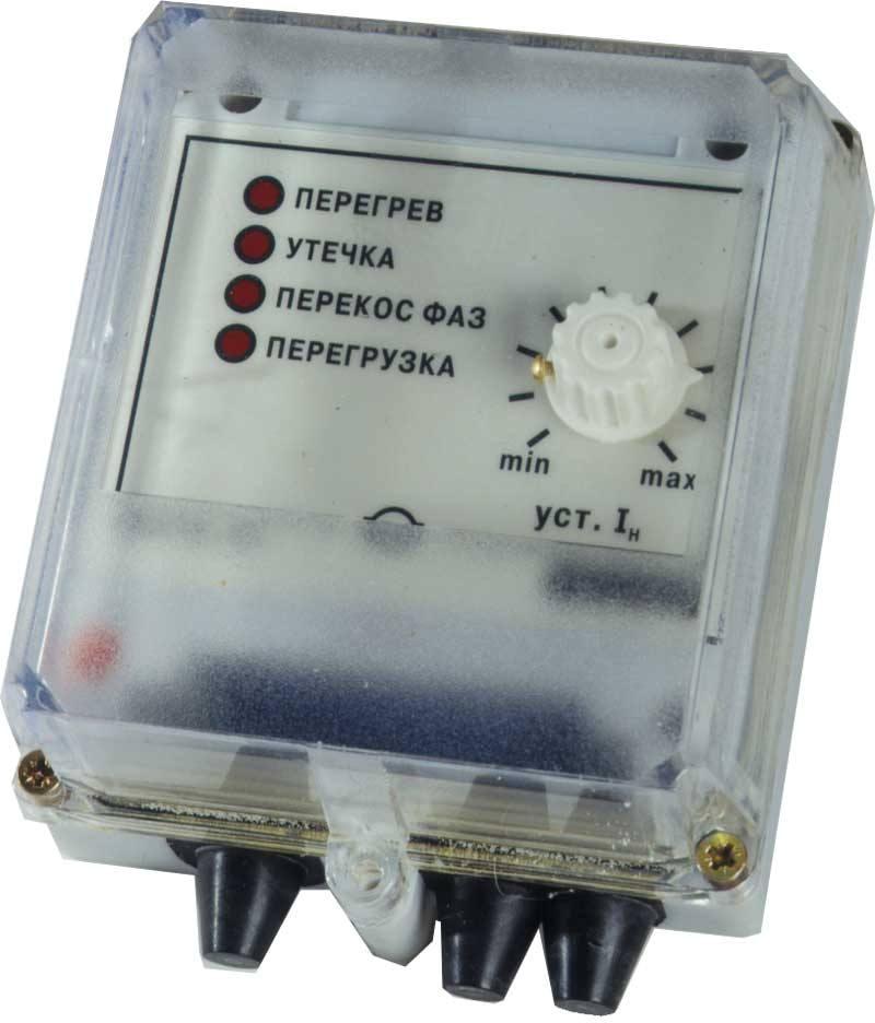 Прибор для защиты электродвигателя с контролем тока ОВЕН УЗОТЭ-2У