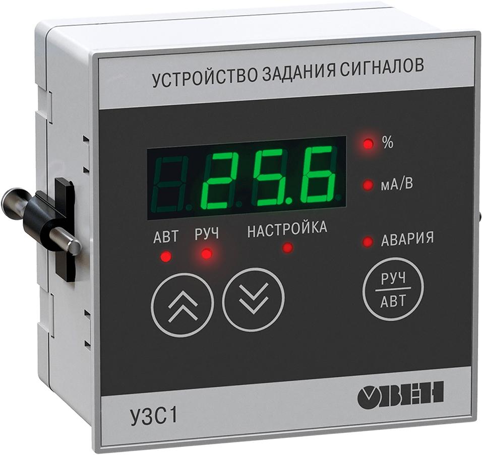 Цифровой задатчик сигналов 4…20 мА и 0…10 В ОВЕН УЗС1-Щ1.И