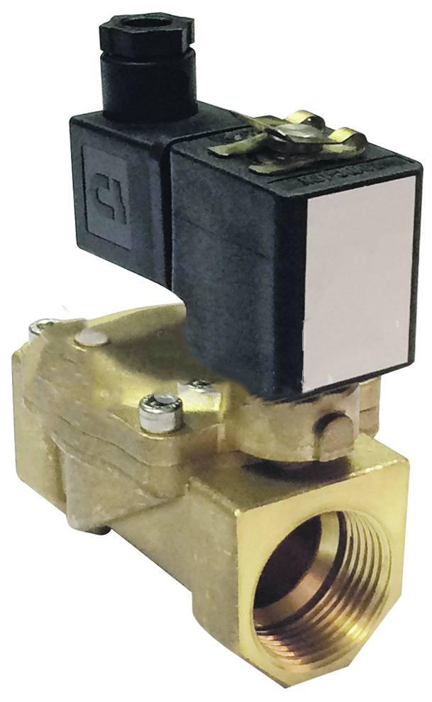 Клапан соленоидный прямого действия нормально открытый PLESK P4601-40-400-1NA без катушки