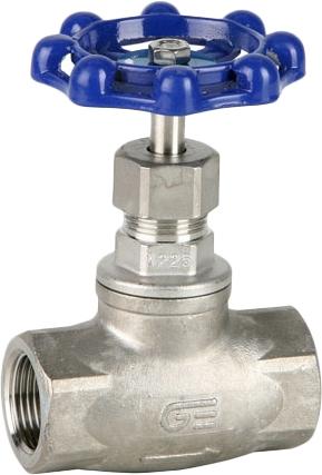 Вентиль игольчатый резьбовой из нержавеющей стали Genebre 2230-04 PN16 DN15