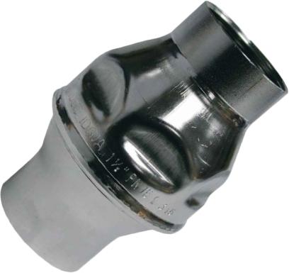 Клапан обратный дисковый резьбовой из нержавеющей стали GENEBRE 2445-08 PN16 DN40