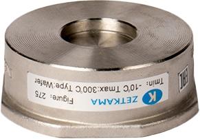 Клапан обратный пружинный нержавеющая сталь межфланцевый ZETKAMA 275I-040-E51 DN40 PN40