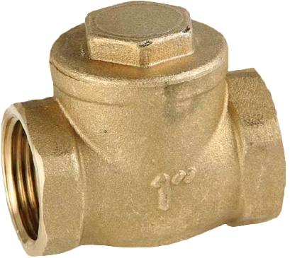 Клапан обратный резьбовой латунный GENEBRE 3185-12 PN08 DN100