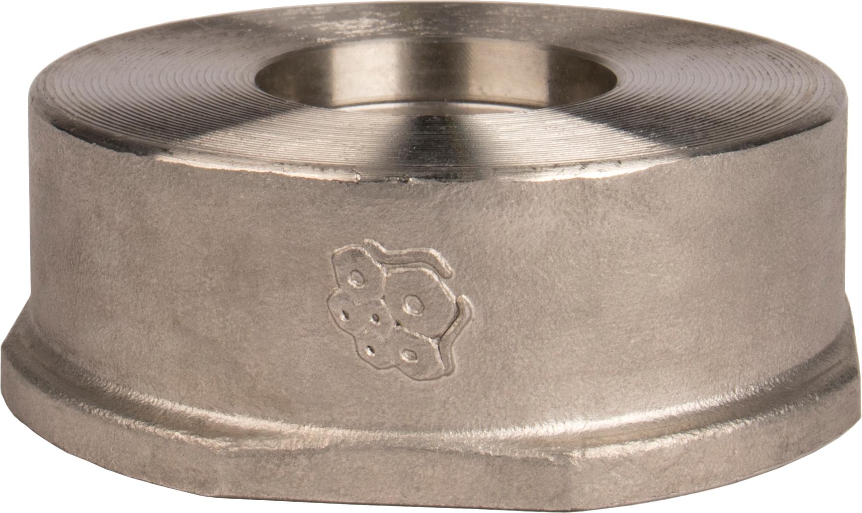 Клапан обратный пружинный из нержавеющей стали межфланцевый Rushwork 404-050-40 DN50