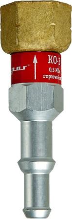 Клапан обратный Redius КО-ЗГ-31 вх. резак/горелка, (горючий газ)