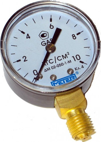 Манометр газовый Россия  1МПа