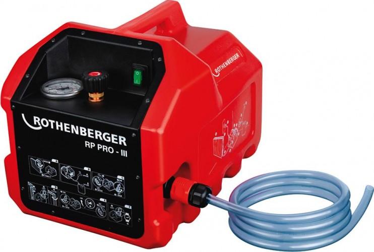 Испытательный гидропресс электрический Rothenberger RP PRO-3 61185