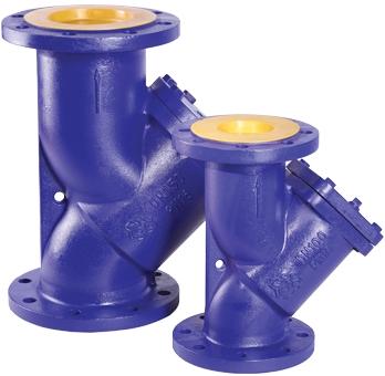 Фильтр сетчатый чугунный фланцевый Rushwork 600-200-16/1,6 DN200 PN16 со сливной пробкой