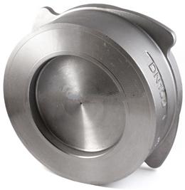 Клапан обратный пружинный из нержавеющей стали межфланцевый 10-25-1-316