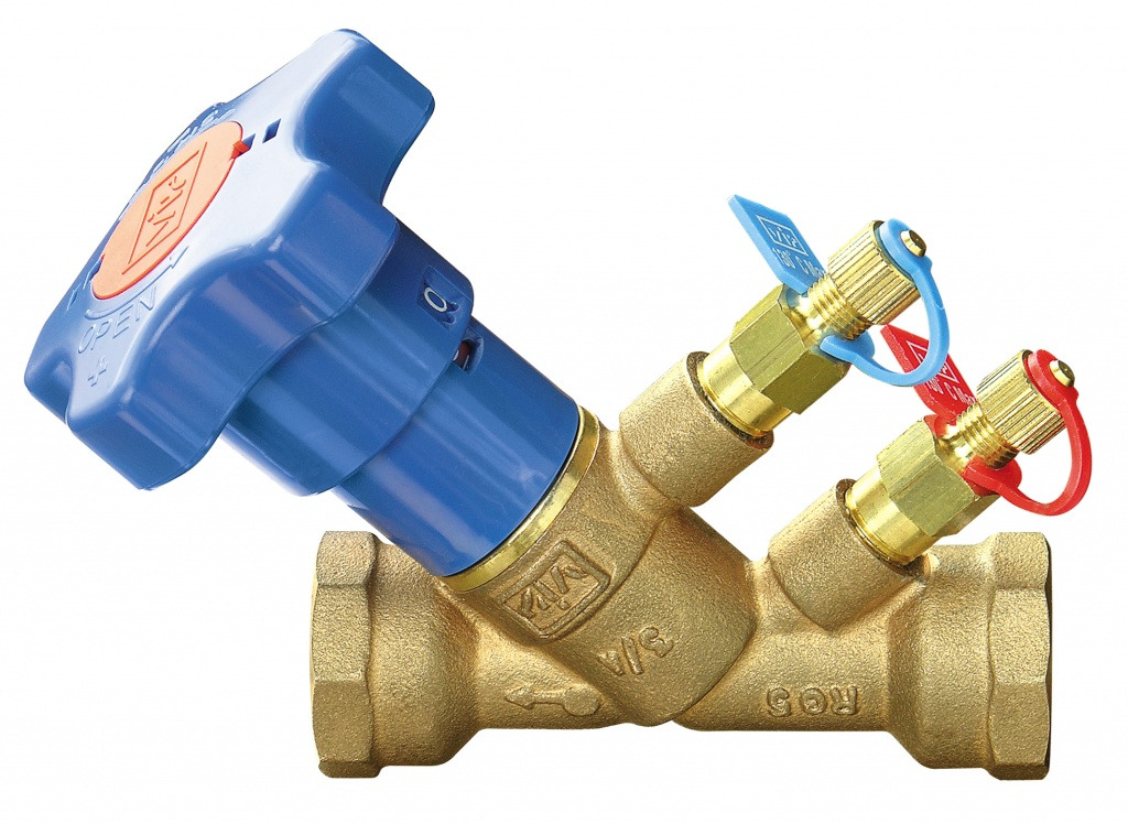 Клапан балансировочный латунный резьбовой VIR 9505 F9505B015.946