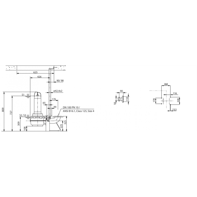 Фекальный насос Wilo Rexa FIT V10DA422/EAD14T0015540O