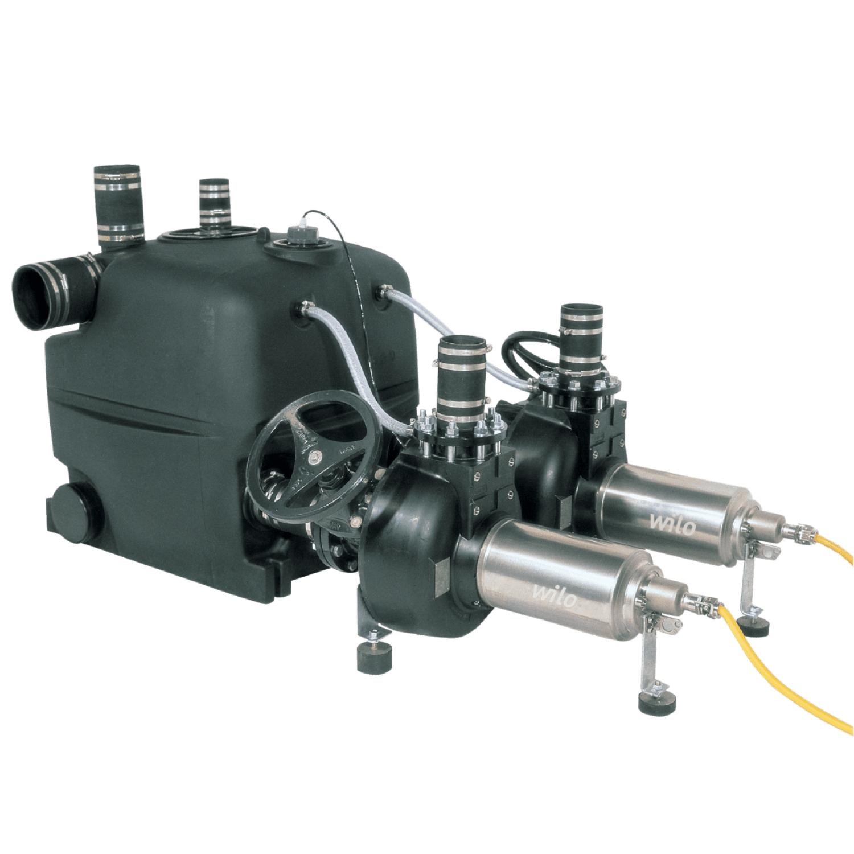 Напорная установка отвода сточной воды Wilo DrainLift XXL 1080-2/7,0