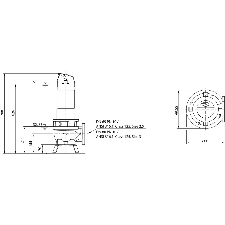 Фекальный насос Wilo Rexa FIT V06DA222/EAD12T0039540A