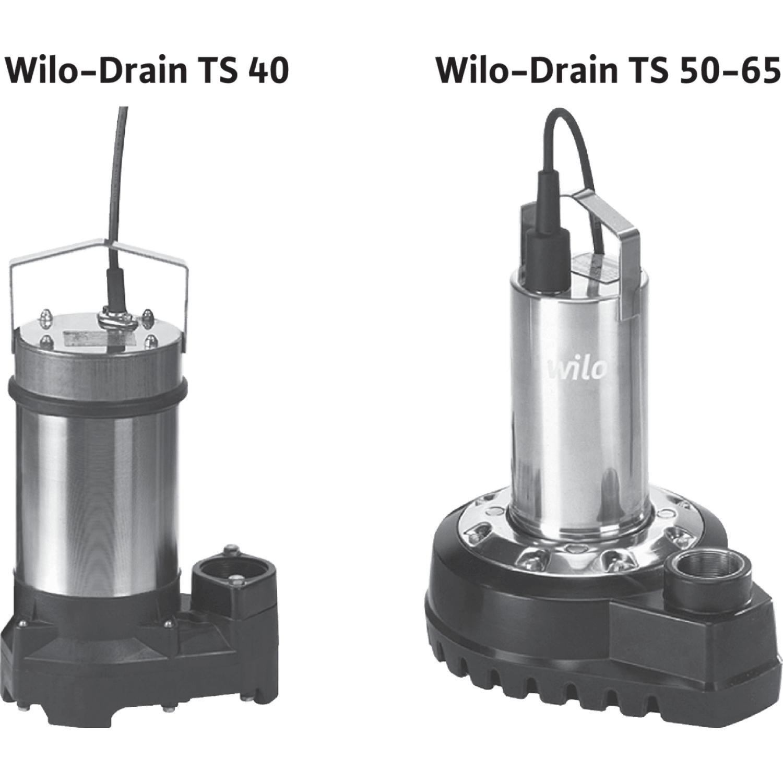 Погружной насос для сточных вод Wilo Drain TS 40/14A (1~230 В)