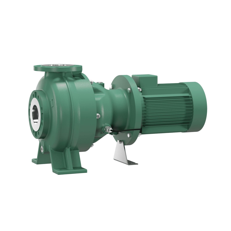 Насос для отвода сточных вод блочной конструкции со встроенным стандартным электродвигателем фекальный насос Wilo RexaBloc RE 15.84D230DAH160L4