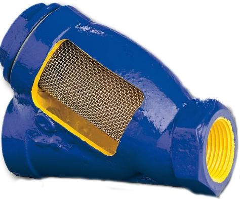 Фильтр чугунный резьбовой Zetkama  823А-020-С-10 PN16 DN20