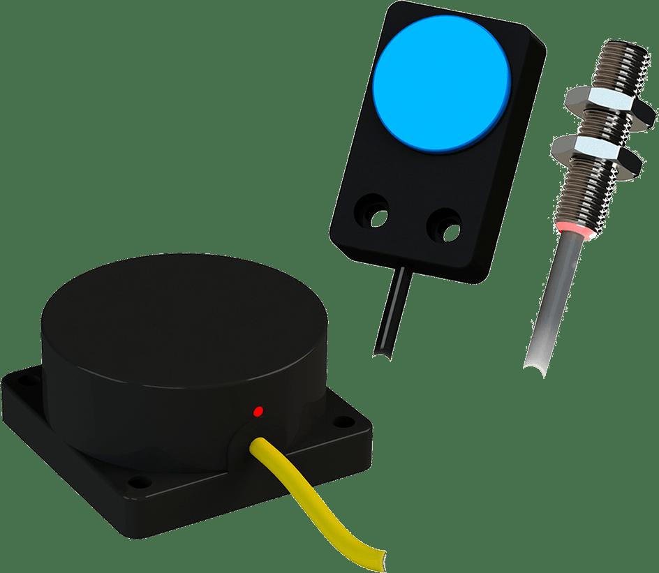 Бесконтактный индуктивный датчик (производитель ОВЕН, серия ВБ2).